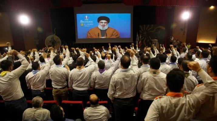 ifmat - US sanctions force Hezbollah to cut spending on fighters
