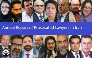 ifmat - Annual report of prosecuted lawyers in Iran