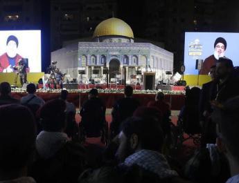 ifmat - Hezbollah leader Nasrallah warns any war against Iran would engulf region