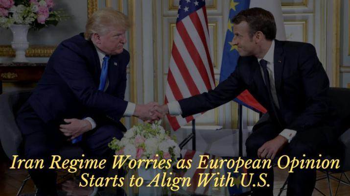 ifmat - Iran Regime worries as EU starts to align with US