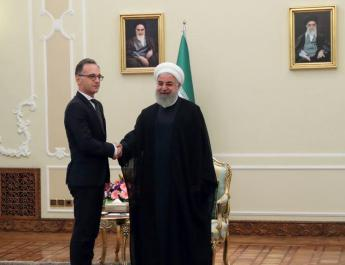 ifmat - Iranian president meets with German FM in Tehran