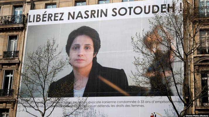 ifmat - Million People join global campaign demanding from Iran to release Nasrin Stoudeh