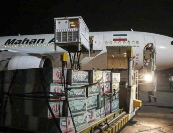 ifmat - Iranian airlines support regime by transporting fighters and weapons