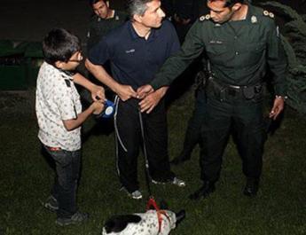 ifmat - Tehran police crackdown on improper hijab and dog walking
