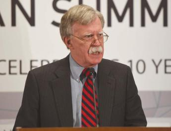 ifmat - Bolton says for iranian sanctions to be removed a deal must be reached