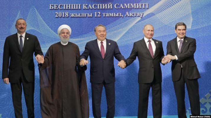 ifmat - Iran activists criticize Tehran for signing controversial Caspain legal regime