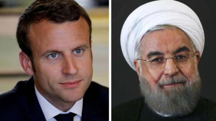 ifmat - Khomeinist Regime media falsely claims Macron invited Rouhani to G7 Summit