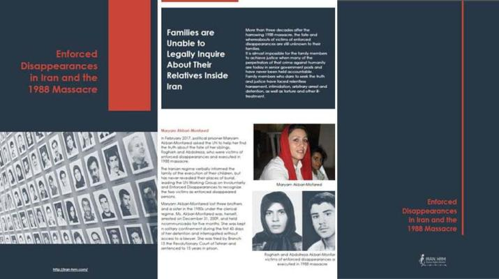 ifmat - New Report on 1988 massacre in Iran