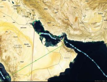 ifmat - Oil tankers tracking signals are vanishing in the Strait of Hormuz