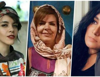 ifmat - Three women sentenced to 55 years for defying compulsory Hijab in Iran