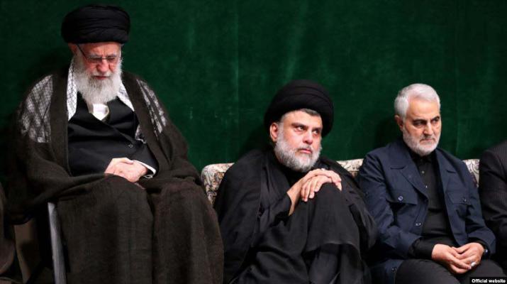 ifmat - Al-Sadr in Iran meets Khamenei