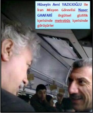 ifmat - Ghafari met his Turkish asset in a metrobus in Istanbul