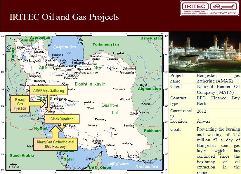 ifmat - IRITEC Oil and Gas Porjects