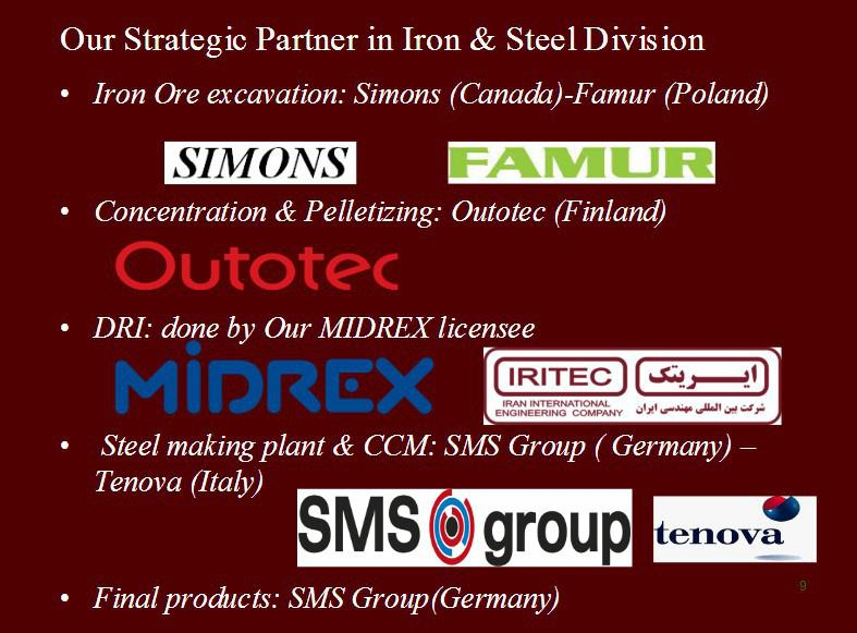 ifmat - IRITEC partner in Iron and Steel Division