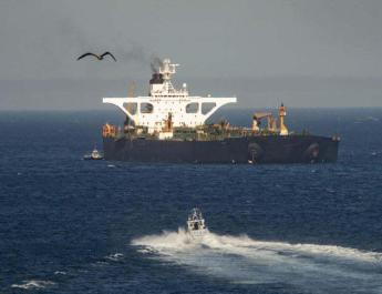 ifmat - Iran oil tankers has delivered contentious cargo in Mediterranean