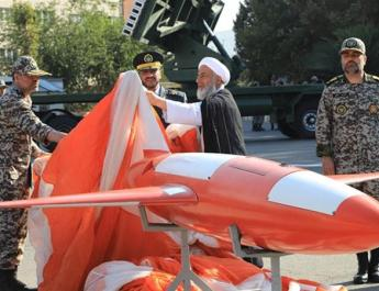 ifmat - Iran unveils Kian reconnaissance and attack drone