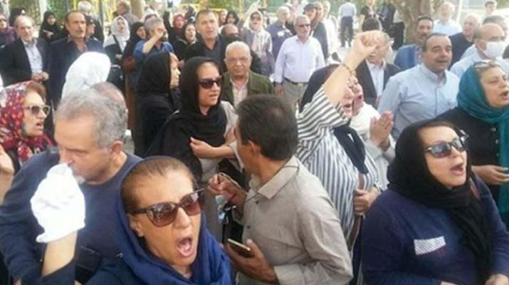 ifmat - Iranians continue to protest against regime despite violent crackdown by authorities