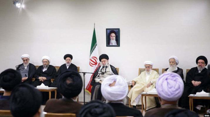 ifmat - Khamenei against European support for regime