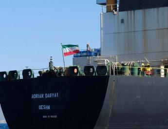 ifmat - US Treasury imposes sanctions on Iranian oil tanker