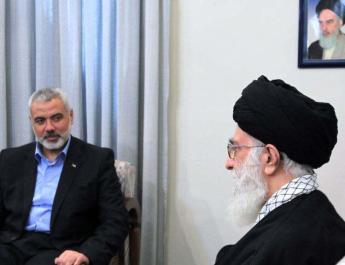ifmat - hamas leader writes to Khamenei to thank him for his support