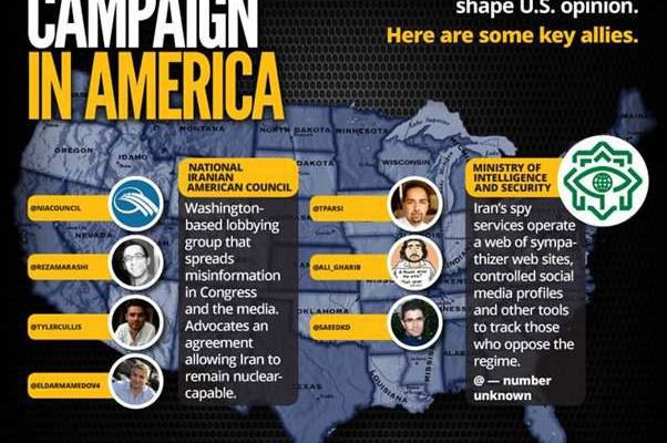 ifmat - Across the US Iran works through a network of supporters to push propaganda