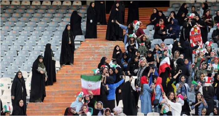 ifmat - Allowing women into the football stadium - A cynical public stunt