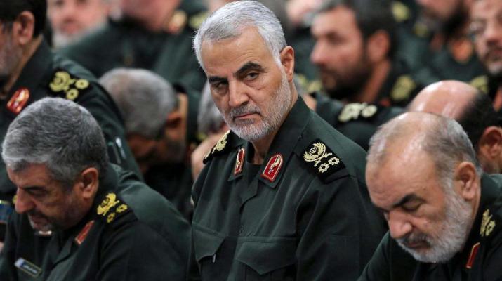 ifmat - Qassem Soleimani met Iraqi security officials in Iraq