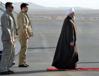 ifmat - Rouhani returns to Iran empty handed