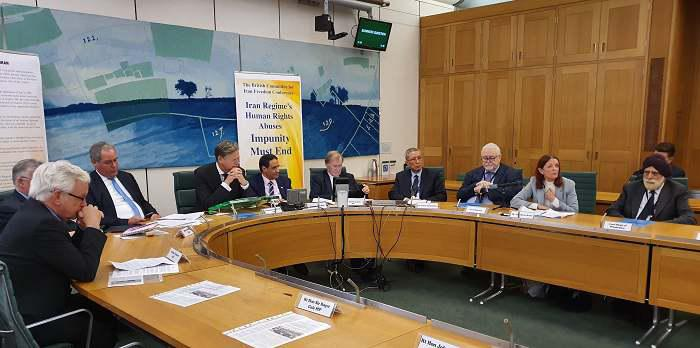 ifmat - UK parliament conference weighs human rights violations in Iran