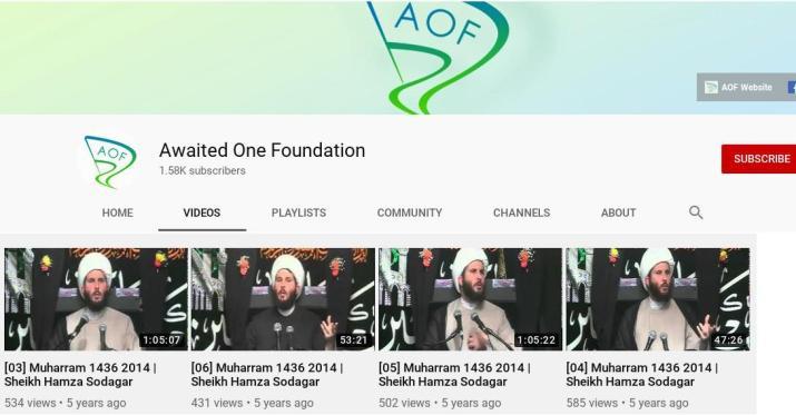 ifmat - Hamza Sodagar Awaited One Foundation