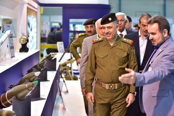 ifmat Iran and allied Iraqi PMF at IQDEX2017 7