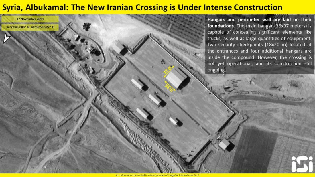 ifmat - Iran continuing construction on army base along Iraq-Syria border3