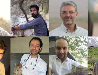 ifmat - Iran sentences 8 conservationists convicted of spying