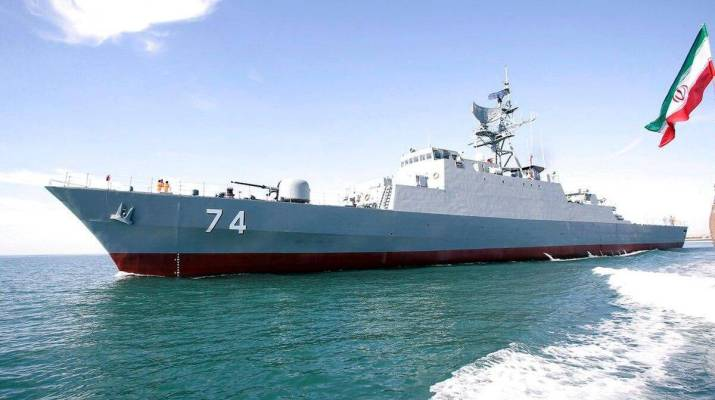 ifmat - Iranian Regime is proud of the stealth destroyer