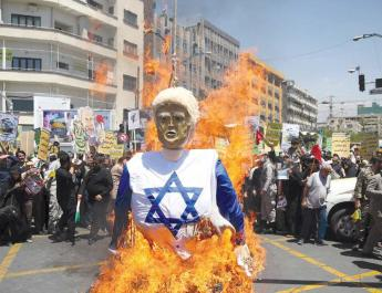 ifmat - Israel Foreign Ministry blames Iran for violence
