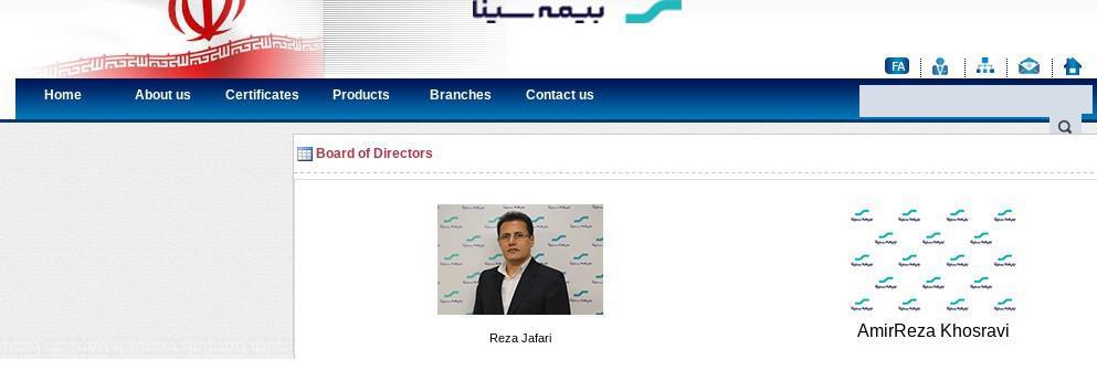 ifmat - Board of Directors Sina insurance