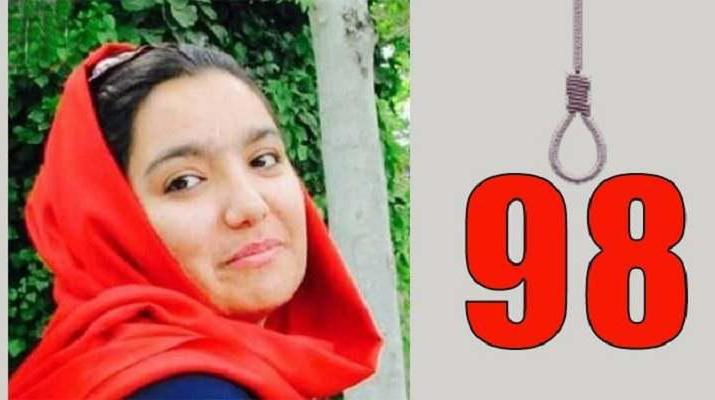 ifmat - Iran regime hangs woman for defending herself against rape