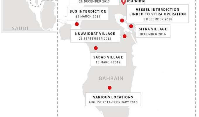 ifmat - Iran supplies militant bomb factories in Saudi Arabia and Bahrain