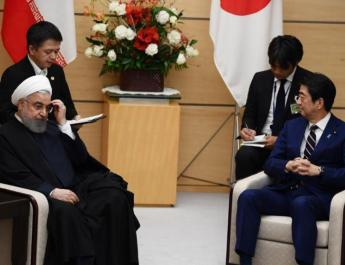 ifmat - Japan PM Tells Rouhani Iran should fully implement nuclear agreement