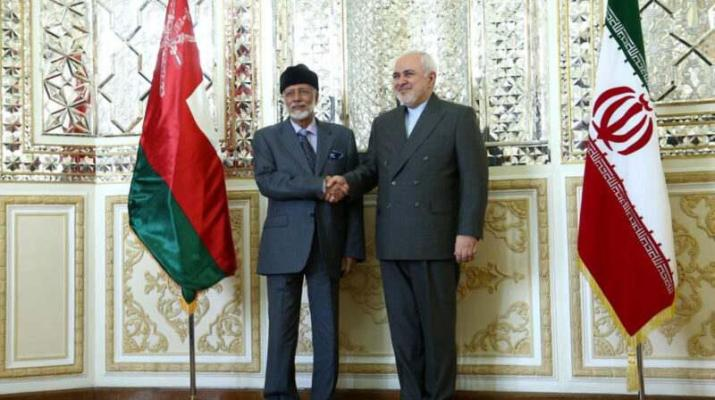 ifmat - Foreign minister of Oman meets Javad Zarif