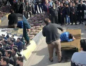 ifmat - Iran publicly lashes man in central city