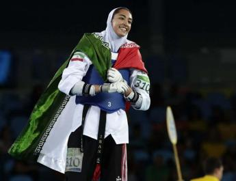 ifmat - Iranian female olympic medalist says she has defected