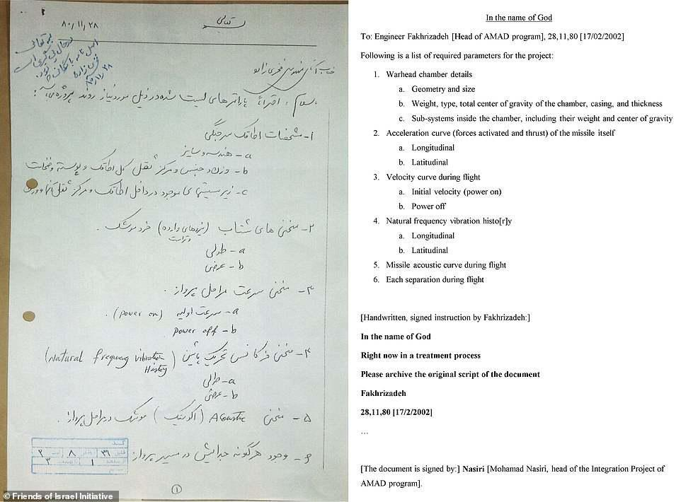 ifmat - Secret document that PROVES Iran was building a nuclear weapon as far back as 2002