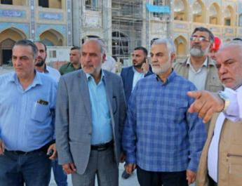 Quds Force Arm in Iraq Holy Shrines Reconstruction Headquarters