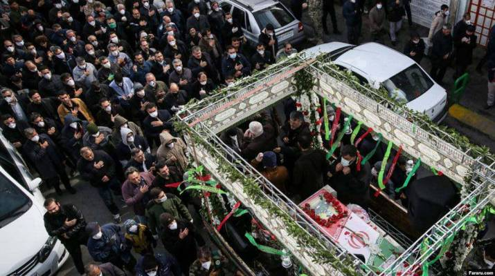 ifmat-Iranians outraged over IRGC-organized street funeral amid coronavirus Epidemic