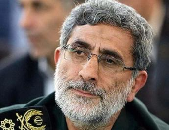 ifmat - New Quds Force commander makes first visit to Syria