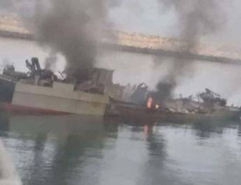 ifmat - Iran army video says enemy is responsible for naval incident