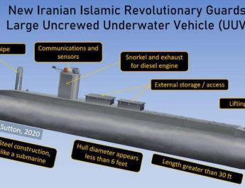 ifmat - Mystery submarine may reveal a major new capability for Iran