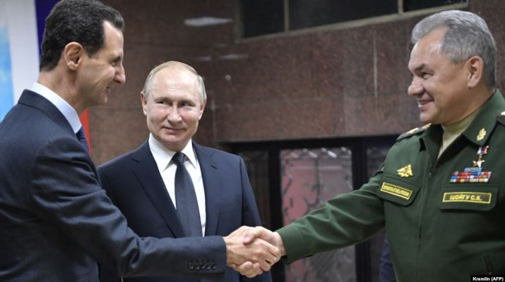 ifmat - Russia Iran and the future of Syria Assad
