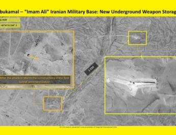 ifmat - Satellite images appear to show Iran building new weapons storehouse in Syria